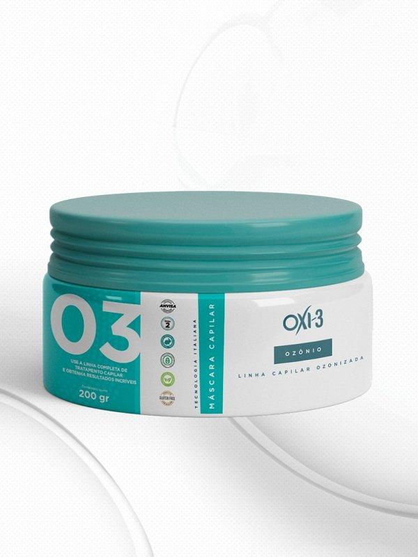MÁSCARA CAPILAR PREMIUM OXI-3 • Hidratação, Brilho, Maciez, Tratamento de Pontas Duplas
