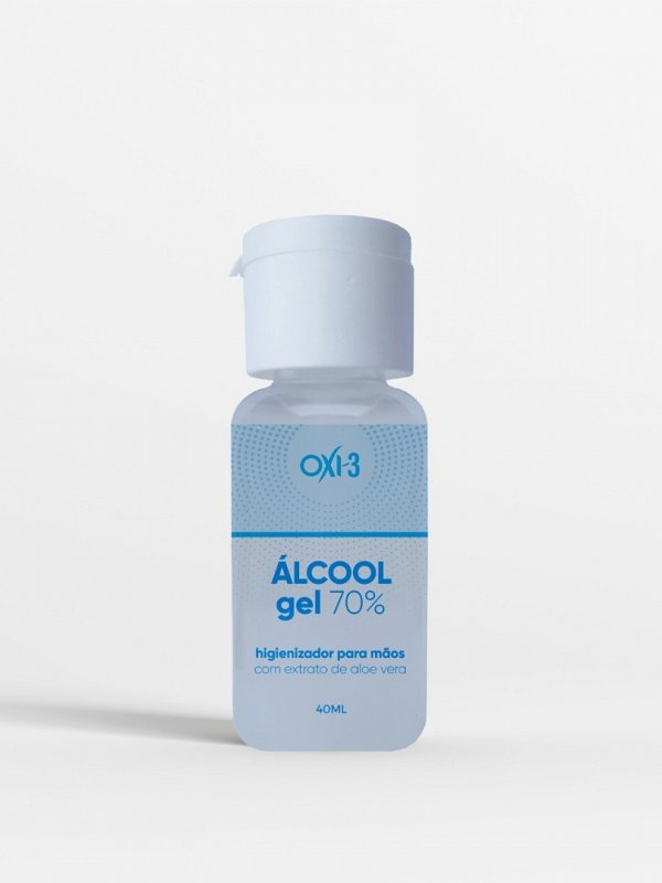 ÁLCOOL EM GEL OXI-3   CÓD. 0176