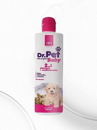 Shampoo Dr. Pet Baby Ozônio 500ml - Compre 1 Leve 3